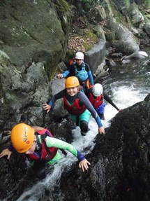 Gorge Walking