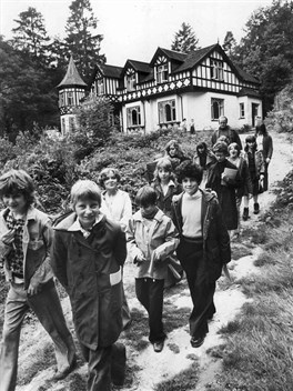 Early years as an outdoor education centre
