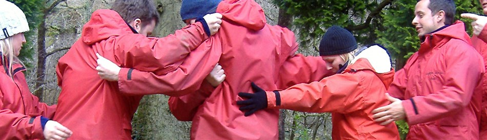 Corporate outdoor training in North Wales