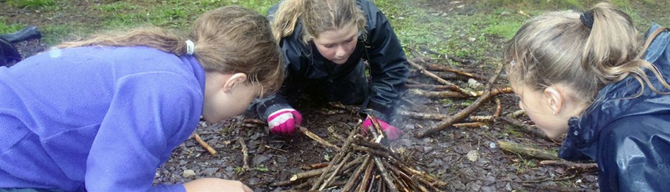 Bushcraft and survival skills North Wales