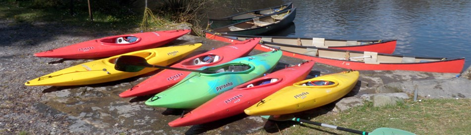 Kayaking outdoor activity Snowdonia