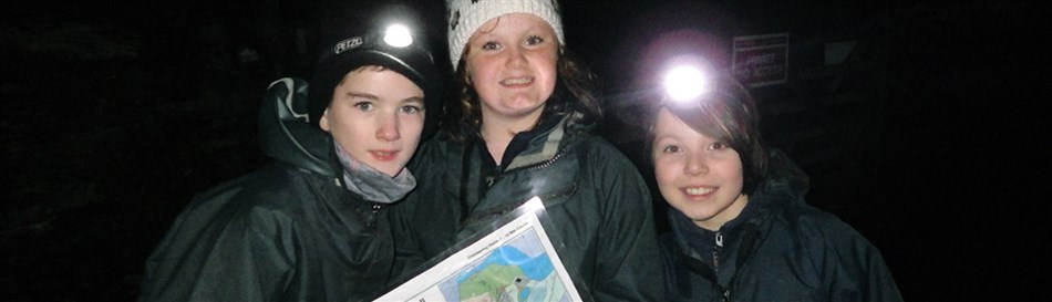 Orienteering in North Wales